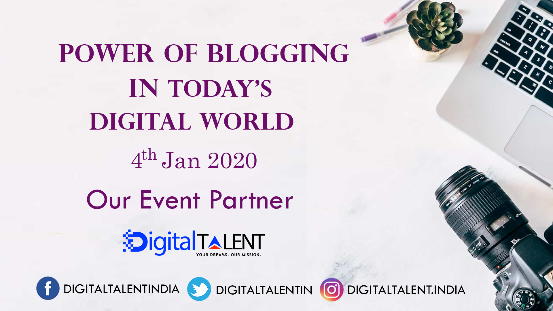 Digital Talent Event