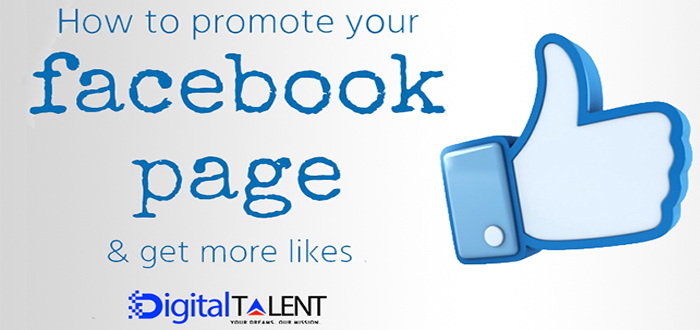 How to Promote your Facebook page